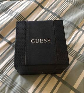 Caixa E Manual Relógio Guess - Estojo Original