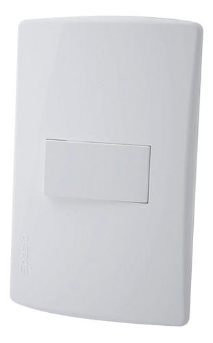 Interruptor Sencillo Conmutable Spazio Blanco Ciles