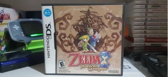 Zelda Phantom Hourglass Nintendo Ds. Americano. Original.