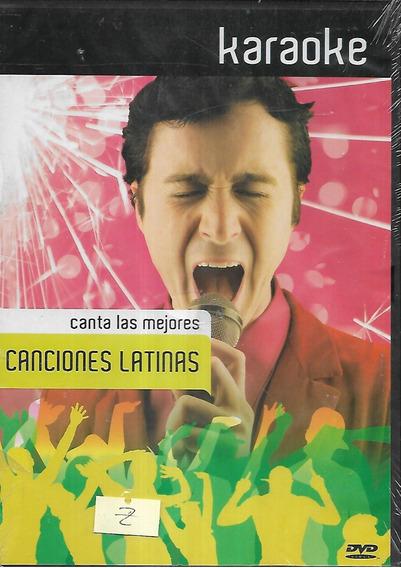 Karaoke Canta Las Mejores Canciones Latinas Dvd Sellado