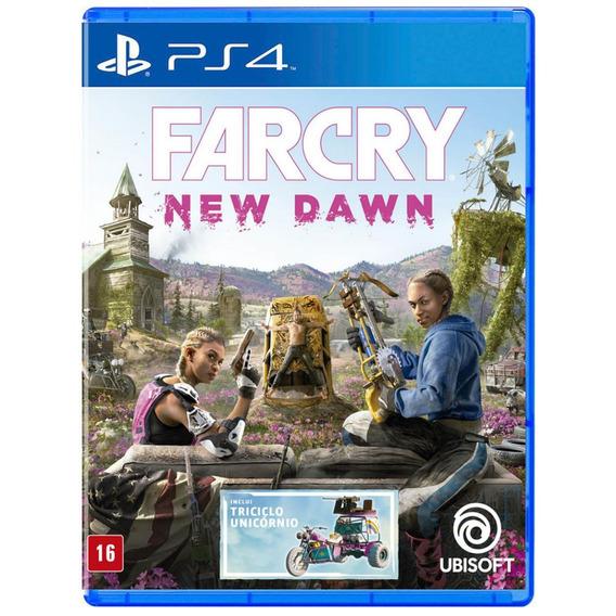 Far Cry New Dawn - Mídia Física - Ps4 - Novo