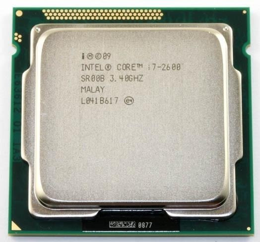 Processador Intel I7 2600 3,4 Ghz