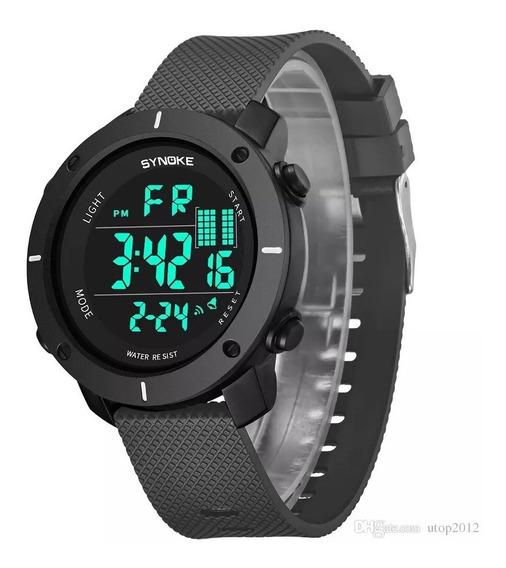 Relógio Masculino Synoke 9658 Digital Esportivo Original Nf