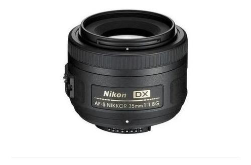 Imagem 1 de 3 de Lente Nikon 35mm F/1.8g Af-s Auto Foco Pronta Entrega