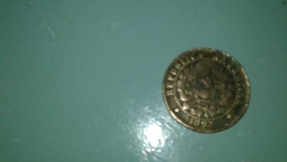 Moneda Antigua Argentina 2 Centavos 1893