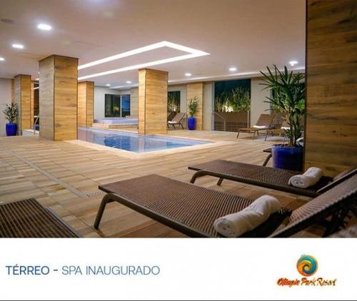 Resorts Para Venda Em Olímpia, Santa Efigênia, 1 Dormitório, 1 Banheiro - Cota Olím_1-1304235