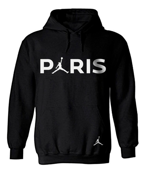 Sudadera Paris Jordan Moda Unisex Nike Vans Futbol
