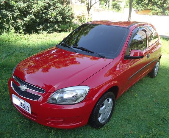 Celta 2012 Frente Nova 1.0 Alarme 70.000 Km - Som Raridade