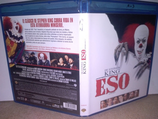 It Bluray Eso Stephen King Terror Payaso