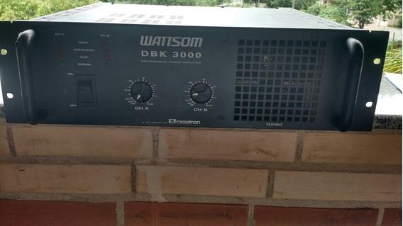 Amplificador Wattson Bivolt