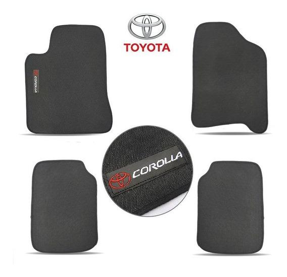 Tapete Automotivo Exclusive Toyota Corolla 2004/2008 Preto