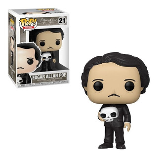Funko Pop Edgar Allan Poe 22 Nuevo Original