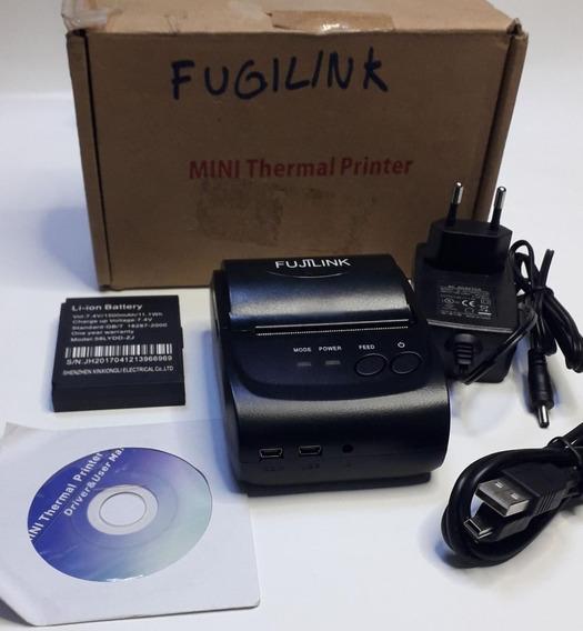 Impressora Termica Portatil Bluetooth Fujilink 58mm