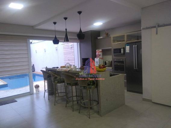 Casa Com 3 Dormitórios À Venda, 152 M² Por R$ 700.000,00 - Jardim Cândido Bertini - Santa Bárbara D