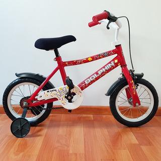 Bicicleta Dolphin Rodado 12 Con Rueditas.