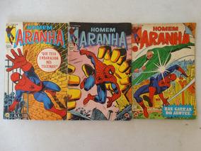 Homem Aranha Nºs 1/2 E 3! Rge 1979!