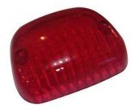 Lentes Delimitador Techo Transparente Rojo Ap-440