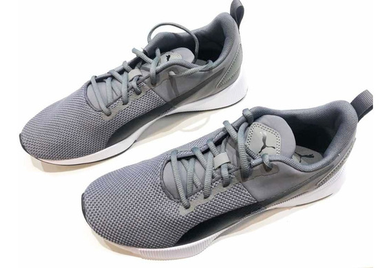 Tênis Puma Flyer Runner Charcoal Gray-puma Black