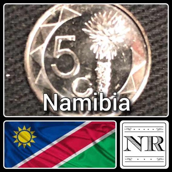 Namibia - 5 Cents 2012 - Km # 1 - Planta De Aloe