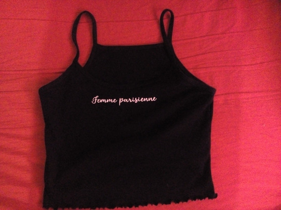 Top Crop Musculosa Mujer