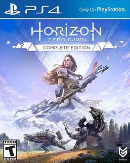 Horizon Zero Dawn Complete Edition Ps4 Juego Playstation 4