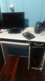 Computador + Escrivaninha E 2 Web-cans Gratis