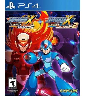 Megaman X Legacy Collection 1 Y 2 Ps4 Nuevo (en D3 Gamers)