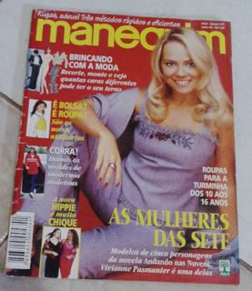 Revista Manequim Viviane Pasmanter Raridade