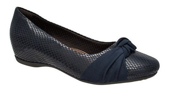 Sapato Anabela Piccadilly Maxytherapy Conforto 234001