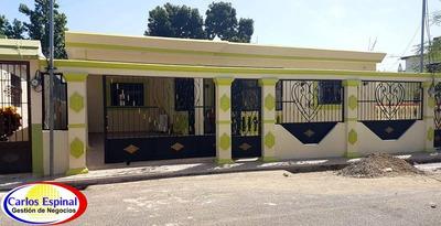 Casa En Venta En La Vega, Republica Dominicana Prs100