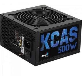 Fonte Aerocool 500w Kcas En53367 80plusbronze Atx12v/2.3 Pfc