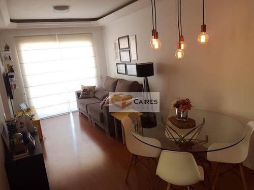 Apartamento Com 3 Dormitórios À Venda, 82 M² Por R$ 420.000,00 - Jardim Proença - Campinas/sp - Ap7900