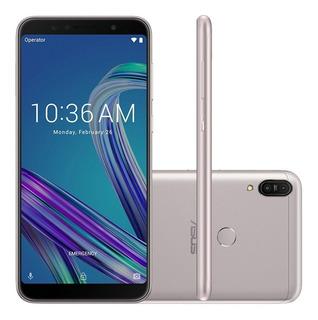 Smartphone Asus Zenfone Max Pro M1, 4g 64gb Octa Core Câmera Dupla 16mp+5mp Tela 6.0 , Prata