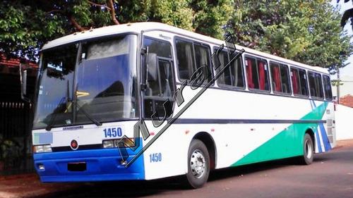 Imagem 1 de 5 de Marcopolo Gv 1000 Mercedes 0-400 Rs 48 Lug 1996 Rd-ref 521