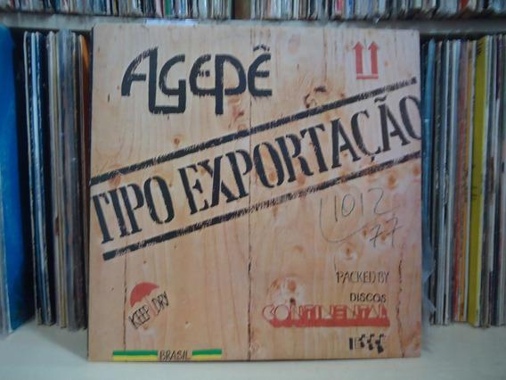 Lp Agepê-tipo Exportação / Com Encarte