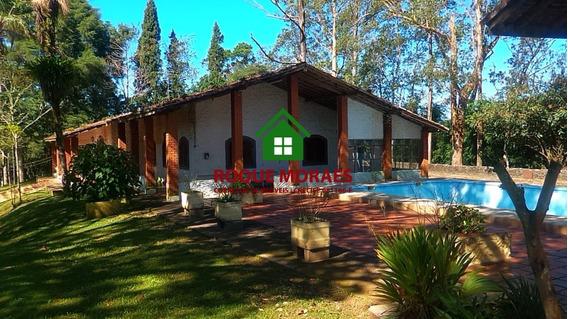 Venda Sítio - Juquitiba Com Piscina, Lago E Nascente.ref0013