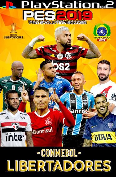 Pes 2019 Libertadores , Atualização De Setembro. Jogo Ps2