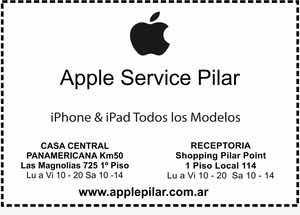 Servicio Técnico Especializado En Apple Pilar
