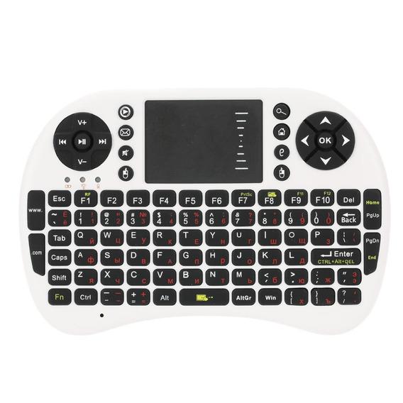 2.4g Mini Usb Sem Fio Versão Russo Teclado Touchpad &