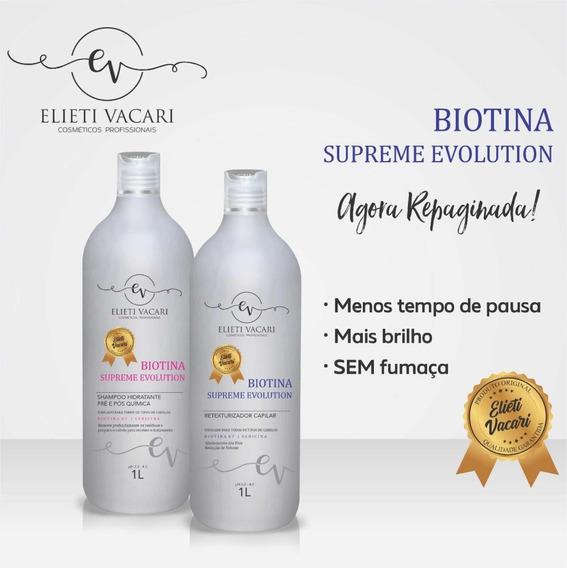 Biotina + Shampoo Biotina Hidratante 1lt