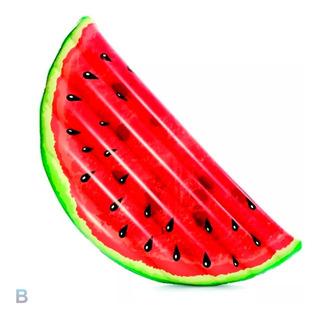 Colchoneta Inflable Sandia Fruta Surtidas Bestway 43159 Full