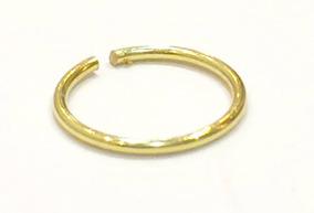 Piercing Argola Em Ouro 18k.