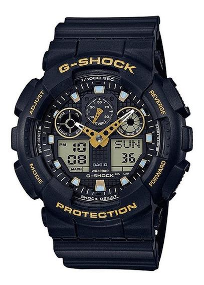 Relógio Casio Masculino G-shock Ga-100gbx1a9dr+brinde