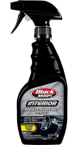 Imagen 1 de 5 de Limpiador  Protector Y Interior Auto Tablero Black Magic