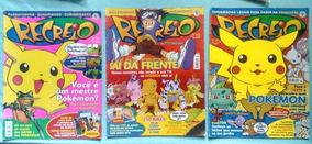 Revista Recreio Pokemon Digimon Lote