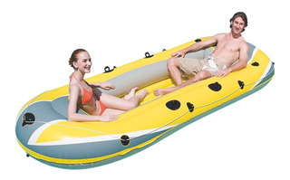 Bote Inflável Hydro Force Raft 3 Pessoas 307 X 126 Bestway
