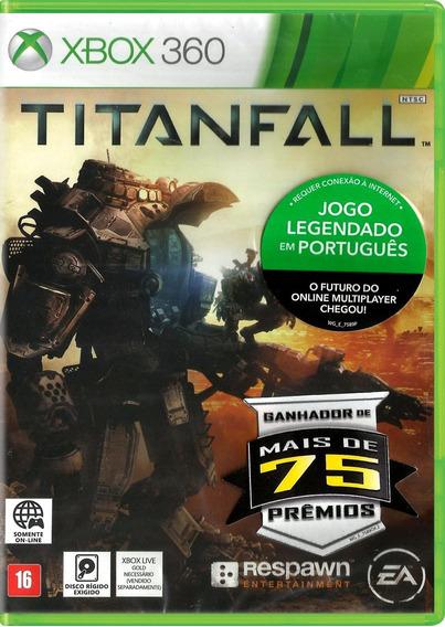 Titanfall - Xbox 360 Lacrado Legendado Em Pt Novo On Line