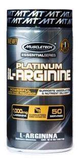 L-arginina Muscletech Platinum L-arginine 100 Cápsulas