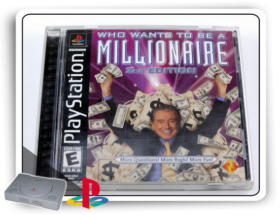 Ps1 Who Wants Be A Millionaire 2nd Ed. Orig. Playstation 1