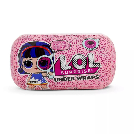 Boneca Lol Surpise Serie 4 Wraps Doll Original / Importado